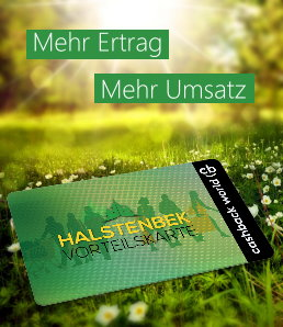 Vorteilskarte Halstenbek